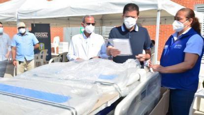 Donan equipos médicos para fortalecer Red Hospitalaria de Soledad