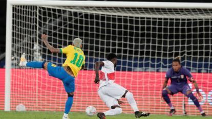 Recital de goles de una Brasil imparable