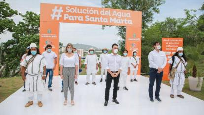 Contratan estudios para problema de agua en Santa  Marta