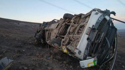 Al menos 27 muertos y 13 heridos tras caer un autobús por precipicio en Perú