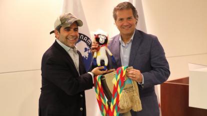 Alejandro Char habla de los Juegos Panamericanos Barranquilla-2027
