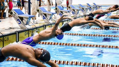 La esperanza olímpica inunda el Complejo Acuático