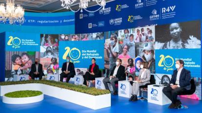 """La acogida de los migrantes es """"un gesto de paz"""": Duque"""