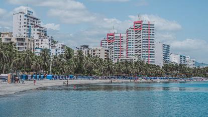Balance positivo del Día del Padre en playas de Santa Marta