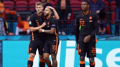 Holanda goleó a Macedonia del Norte en la Eurocopa