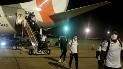 La Selección ya está en Río de Janeiro para el juego ante Brasil