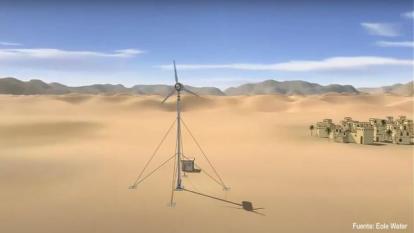 Estudiantes proponen proyecto para generar agua y energía en La Guajira