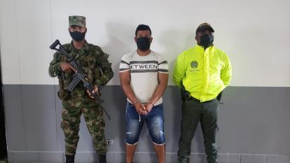 Cayó alias Sinaloa, señalado de jefe de finanzas del Clan de Golfo en Sur de Bolívar