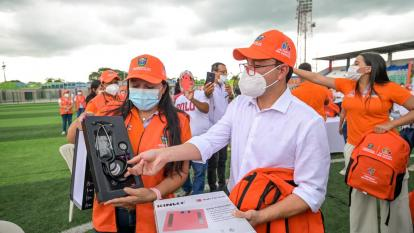 Caicedo lanza Médico en tu casa para atender a 600.000 magdalenenses