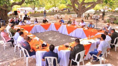 Definen plan contra la delincuencia en norte del Cesar y sur de La Guajira
