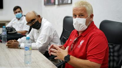 Liverpool F.C. abrirá escuela en Cartagena para promover nuevos talentos: Blel