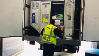 Colombia recibió otras 139.800 dosis de AstraZeneca