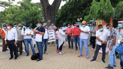 Movilizaciones en Montería avanzan de manera pacífica