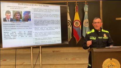 Gobierno solicita circular roja para alias Jhon Mechas y recompensa de $600 millones