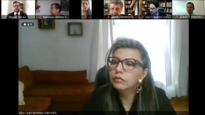 Avance de la audiencia en contra del expresidente Álvaro Uribe Vélez
