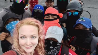 Migración Colombia expulsará a alemana que perteneció a 'Primera Línea'