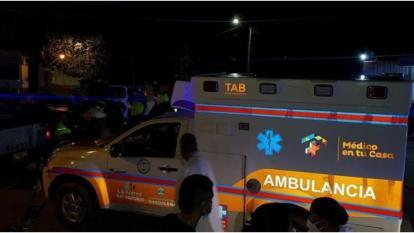 Hombre armado con machete robó  ambulancia en Fundación, Magdalena