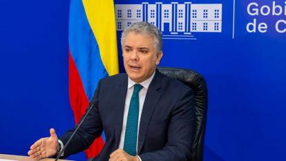 Duque pide agilizar desembolsos de recursos para atención de migrantes