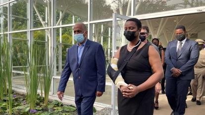 La viuda de Moise dice que considera postularse a la Presidencia de Haití