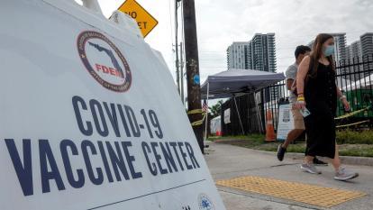 Florida bate marca de casos diarios 16 meses después de inicio de la pandemia