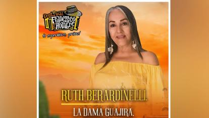 Festival Francisco El Hombre rinde tributo a exalcaldesa de Riohacha, Ruth Berardinelli