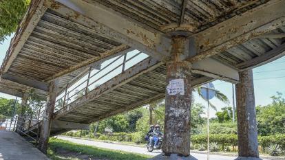 Puerto Colombia intervendrá puentes peatonales del corredor universitario