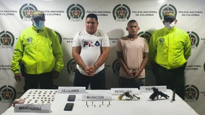 Envían a la cárcel  a dos  miembros del Clan del Golfo