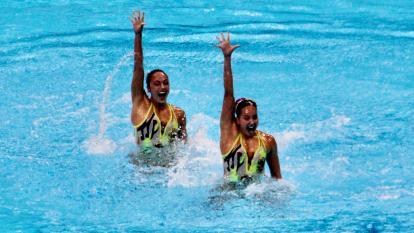 Estefanía Álvarez y Mónica Arango pusieron a 'gozar' con la música del 'Joe' en los Juegos Olímpicos de Tokio