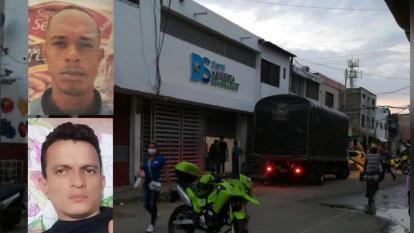 Asesinan a dos coteros en el mercado de Santa Marta