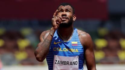 Anthony Zambrano, de bicitaxista a medallista olímpico