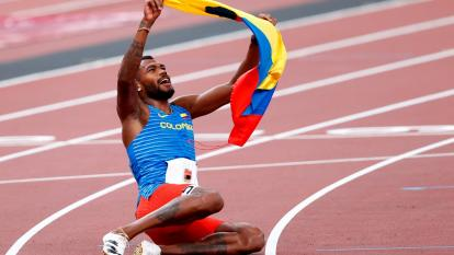 Medalla de plata para Anthony Zambrano en los 400 metros de Tokio
