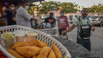 Las empanaditas de Telecom, una tradición gastronómica de Barranquilla