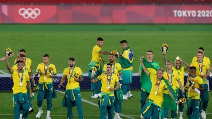 Brasil ganó el oro en el fútbol de los Juegos Olímpicos de Tokio