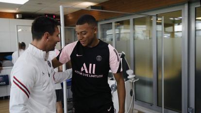 Mbappé no querría jugar con Messi en el PSG