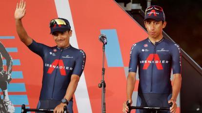 Cinco colombianos entran en acción en la Vuelta a España