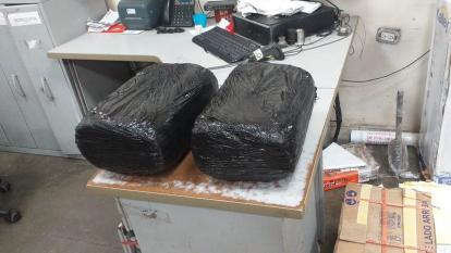 Policía Metropolitana incautó 10.500 gramos de marihuana