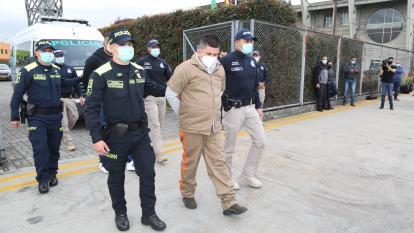 Extraditan a miembros del Eln que atentaron contra Escuela de Cadetes