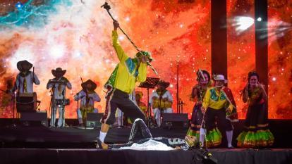 Muestra del Carnaval de Barranquilla deleitó en la Feria de las Flores