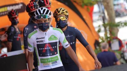 Egan Bernal confía en no perder tiempo en la etapa nueve de La Vuelta