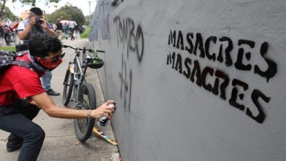 Fiscalía reporta 328 víctimas en 64 masacres entre 2020 y 2021
