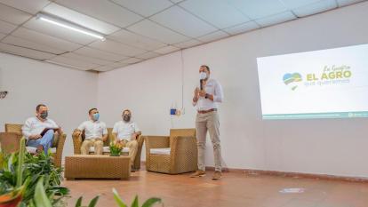 """Lanzan en La Guajira """"El agro que queremos""""  para la reactivación agrícola"""
