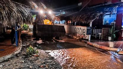 Santa Marta: 5.223 familias afectadas por lluvias y un niño desaparecido