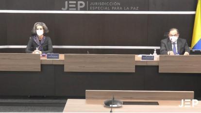 La JEP acredita a 10 víctimas de delitos sexuales en el caso 05