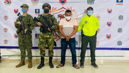 Ejército capturó a presunto cabecilla bacrim en zona costera de Córdoba