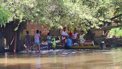 """""""El panorama es desolador por las inundaciones"""""""