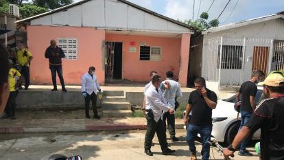 Un muerto y un herido deja ataque sicarial en el barrio El Bosque