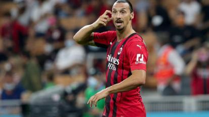Zlatan Ibrahimovic volvió a lesionarse con el Milan