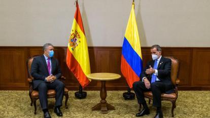 Gobierno español condecorará al presidente de Colombia, Iván Duque
