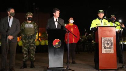 Mindefensa confirma patrullajes militares en Bogotá