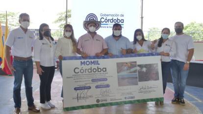 Destinan recursos para ampliar cobertura de alcantarillado en Momil